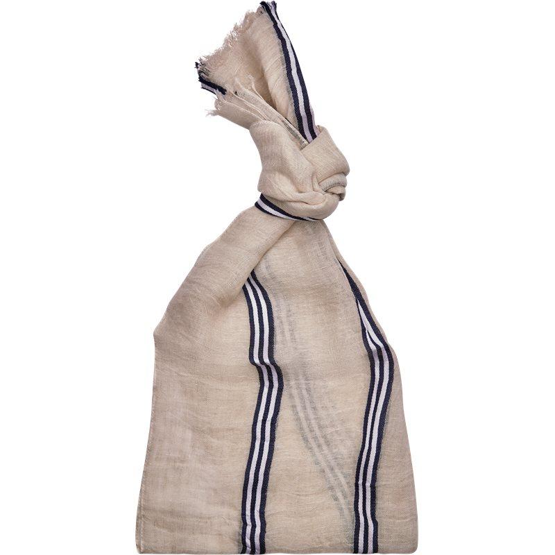rosi & ghezzi Rosi & ghezzi ibiza s23 tørklæder off white på axel.dk